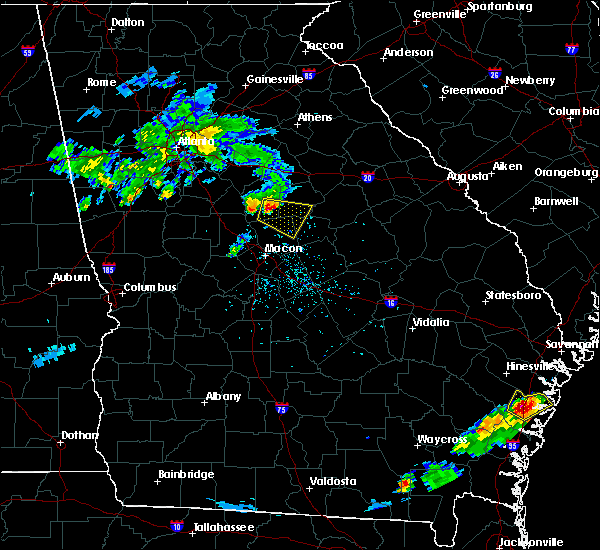 Radar Image for Severe Thunderstorms near Monticello, GA at 5/30/2017 5:51 PM EDT