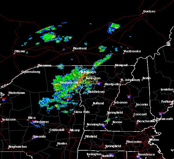Radar Image for Severe Thunderstorms near South Burlington, VT at 5/31/2017 2:35 PM EDT