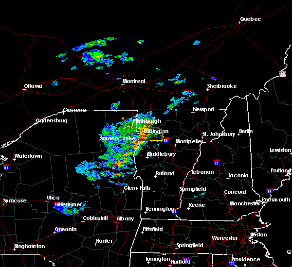 Radar Image for Severe Thunderstorms near South Burlington, VT at 5/31/2017 3:00 PM EDT