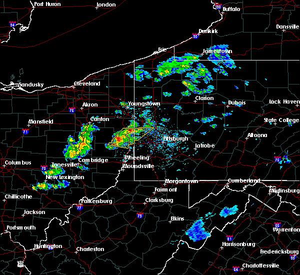 Radar Image for Severe Thunderstorms near Calcutta, OH at 5/31/2017 3:22 PM EDT
