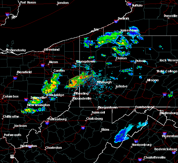 Radar Image for Severe Thunderstorms near Calcutta, OH at 5/31/2017 3:34 PM EDT