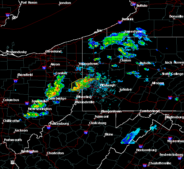 Radar Image for Severe Thunderstorms near Baden, PA at 5/31/2017 3:34 PM EDT
