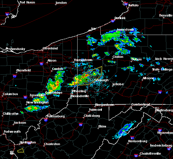 Radar Image for Severe Thunderstorms near Bradford Woods, PA at 5/31/2017 3:48 PM EDT