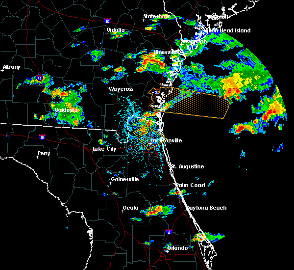 Radar Image for Severe Thunderstorms near Callahan, FL at 5/31/2017 3:57 PM EDT