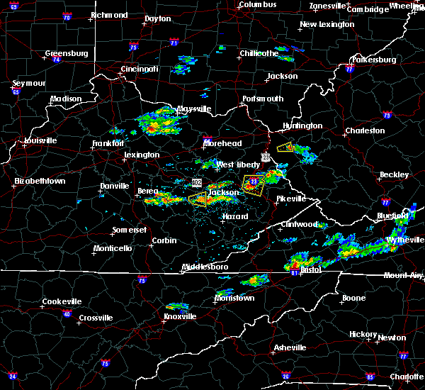 Radar Image for Severe Thunderstorms near Prestonsburg, KY at 5/31/2017 3:57 PM EDT