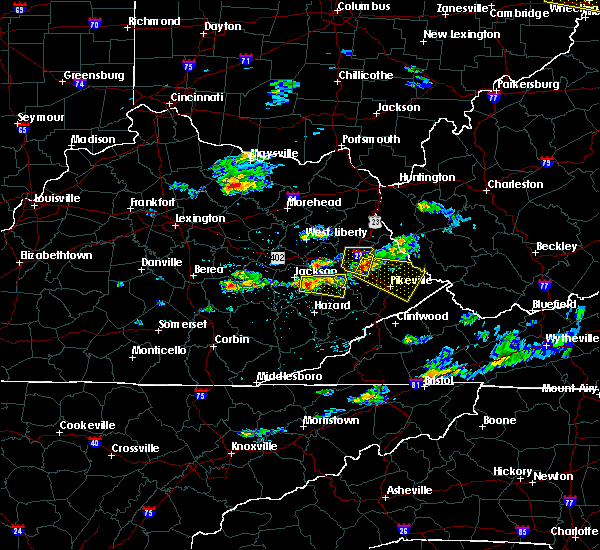 Radar Image for Severe Thunderstorms near Williamson, WV at 5/31/2017 4:10 PM EDT
