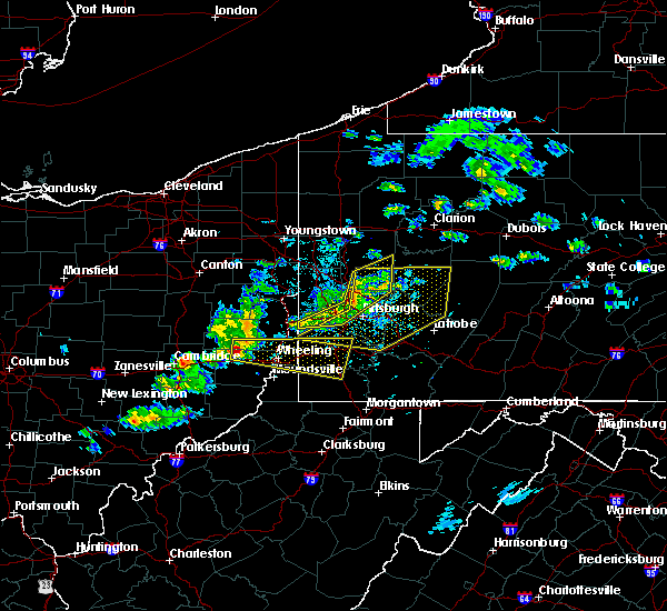 Radar Image for Severe Thunderstorms near Kittanning, PA at 5/31/2017 4:11 PM EDT