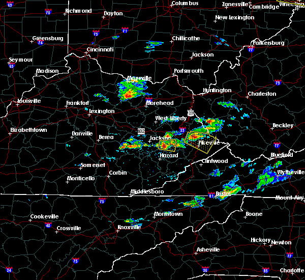 Radar Image for Severe Thunderstorms near Williamson, WV at 5/31/2017 4:23 PM EDT