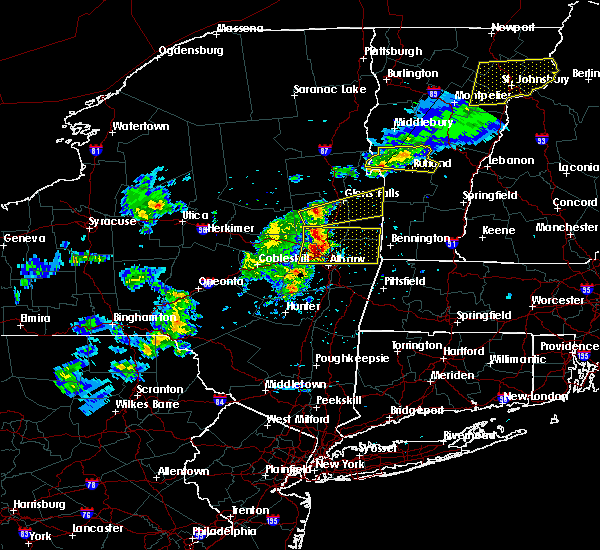 Radar Image for Severe Thunderstorms near Rotterdam, NY at 5/31/2017 4:23 PM EDT