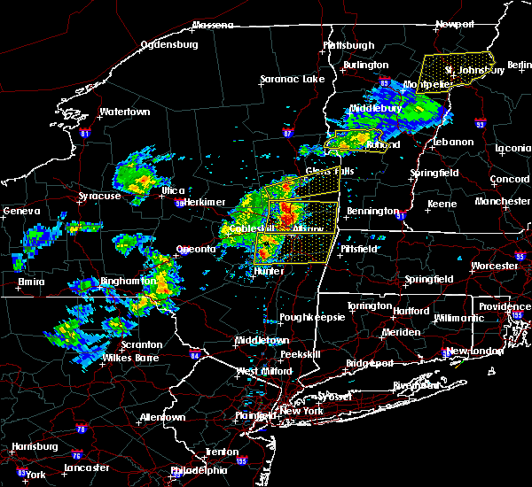Radar Image for Severe Thunderstorms near Altamont, NY at 5/31/2017 4:30 PM EDT