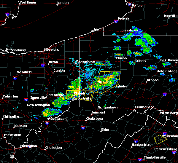 Radar Image for Severe Thunderstorms near Benwood, WV at 5/31/2017 4:34 PM EDT