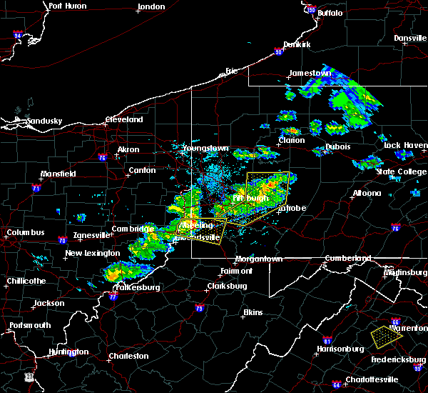 Radar Image for Severe Thunderstorms near Eighty Four, PA at 5/31/2017 4:40 PM EDT