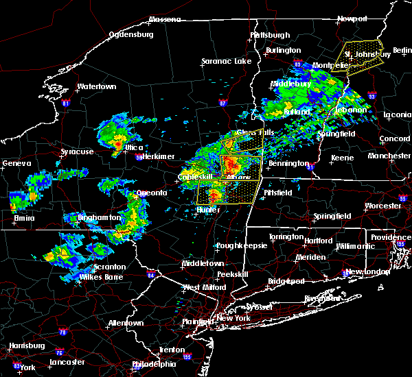 Radar Image for Severe Thunderstorms near Cohoes, NY at 5/31/2017 4:43 PM EDT