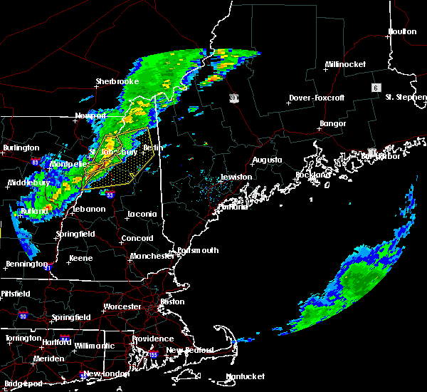 Radar Image for Severe Thunderstorms near Berlin, NH at 5/31/2017 5:02 PM EDT