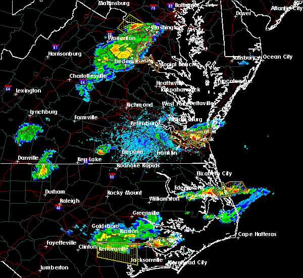 Radar Image for Severe Thunderstorms near Virginia Beach, VA at 5/31/2017 5:22 PM EDT