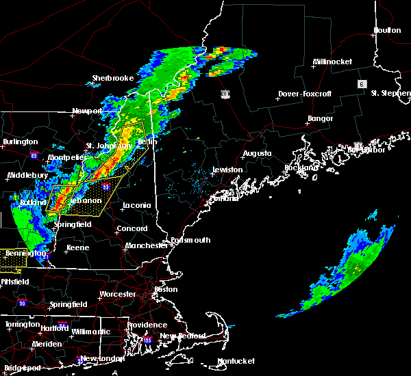 Radar Image for Severe Thunderstorms near Berlin, NH at 5/31/2017 5:28 PM EDT
