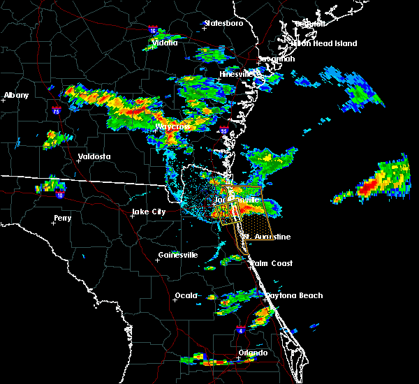 Radar Image for Severe Thunderstorms near Fruit Cove, FL at 5/31/2017 5:44 PM EDT
