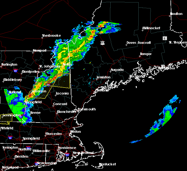Radar Image for Severe Thunderstorms near Bartlett, NH at 5/31/2017 5:50 PM EDT