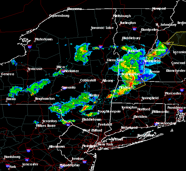 Radar Image for Severe Thunderstorms near Kingston, NY at 5/31/2017 6:06 PM EDT