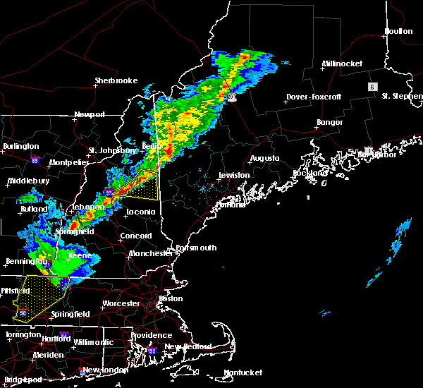 Radar Image for Severe Thunderstorms near Bartlett, NH at 5/31/2017 6:23 PM EDT