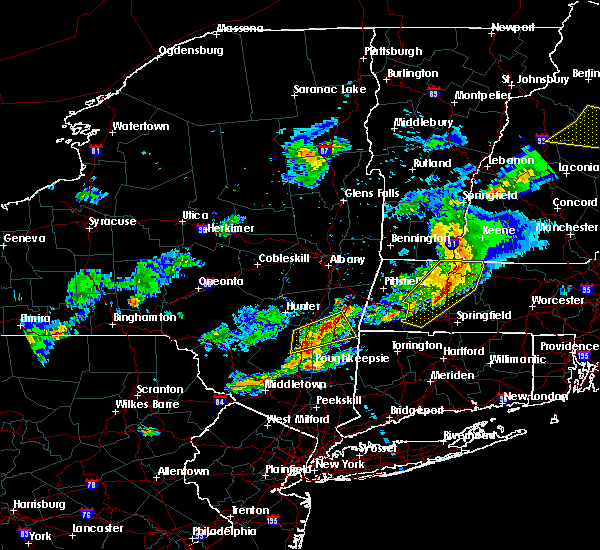 Radar Image for Severe Thunderstorms near Kingston, NY at 5/31/2017 6:36 PM EDT