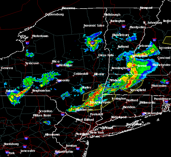 Radar Image for Severe Thunderstorms near Housatonic, MA at 5/31/2017 6:49 PM EDT