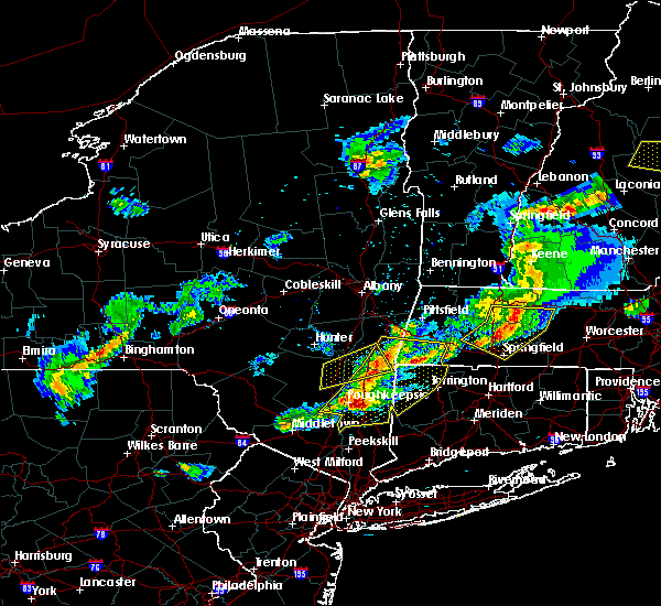 Radar Image for Severe Thunderstorms near Housatonic, MA at 5/31/2017 7:01 PM EDT