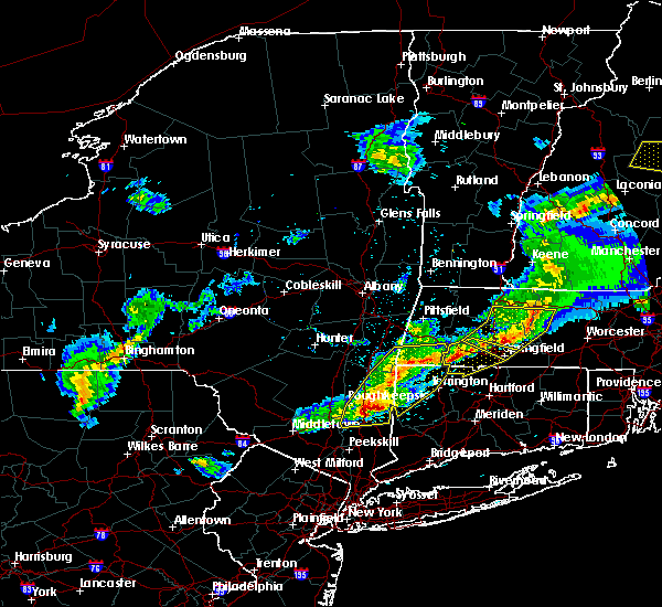 Radar Image for Severe Thunderstorms near Canaan, CT at 5/31/2017 7:14 PM EDT
