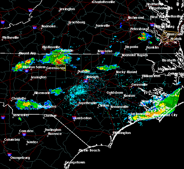 Radar Image for Severe Thunderstorms near Altamahaw, NC at 5/31/2017 7:56 PM EDT