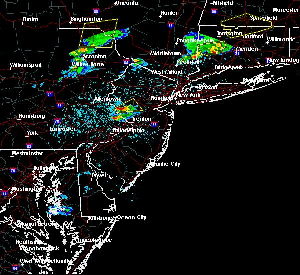 Radar Image for Severe Thunderstorms near Flemington, NJ at 5/31/2017 8:09 PM EDT