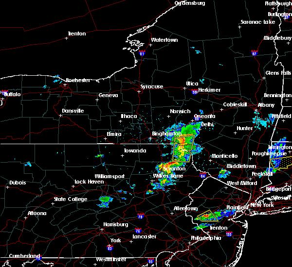 Radar Image for Severe Thunderstorms near Deposit, NY at 5/31/2017 8:25 PM EDT