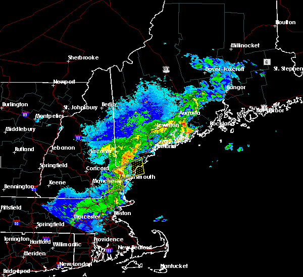 Radar Image for Severe Thunderstorms near South Eliot, ME at 5/31/2017 9:12 PM EDT