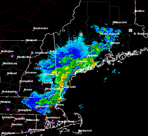 Radar Image for Severe Thunderstorms near South Eliot, ME at 5/31/2017 9:22 PM EDT