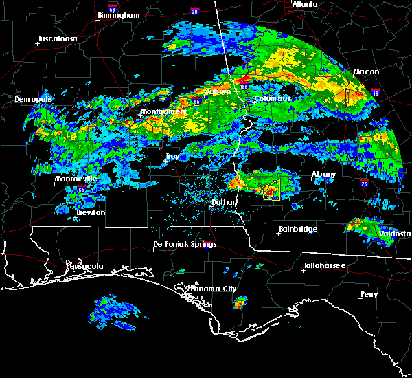 Radar Image for Severe Thunderstorms near Arlington, GA at 6/1/2017 5:23 PM EDT