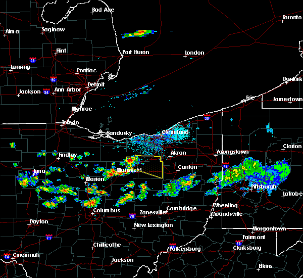 Radar Image for Severe Thunderstorms near Polk, OH at 6/4/2017 3:35 PM EDT