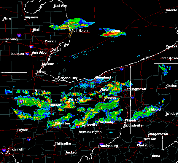 Radar Image for Severe Thunderstorms near Lucas, OH at 6/4/2017 5:23 PM EDT