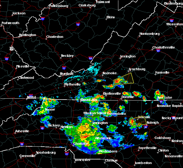 Radar Image for Severe Thunderstorms near Timberlake, VA at 6/4/2017 5:26 PM EDT