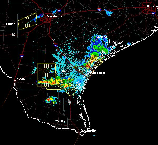 Radar Image for Severe Thunderstorms near Sarita, TX at 6/4/2017 9:52 PM CDT