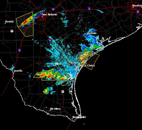 Radar Image for Severe Thunderstorms near Sarita, TX at 6/4/2017 10:11 PM CDT