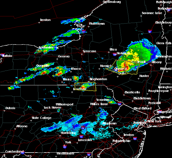 Radar Image for Severe Thunderstorms near Endicott, NY at 6/5/2017 2:41 PM EDT