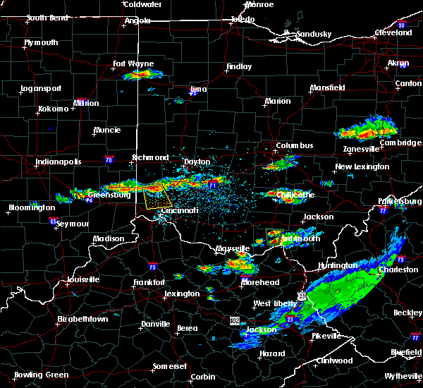 Radar Image for Severe Thunderstorms near Fairfield, OH at 6/5/2017 3:06 PM EDT