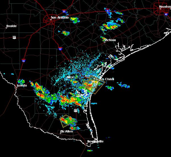 Radar Image for Severe Thunderstorms near Corpus Christi, TX at 6/5/2017 3:32 PM CDT