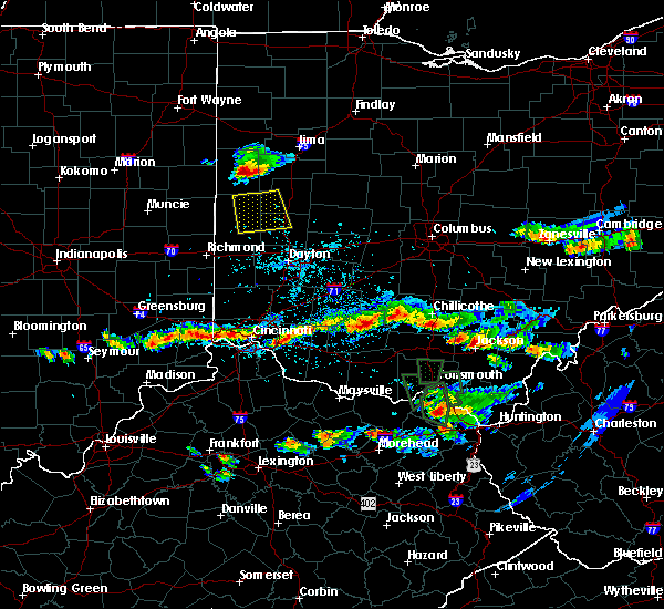 Radar Image for Severe Thunderstorms near Covington, OH at 6/5/2017 4:54 PM EDT
