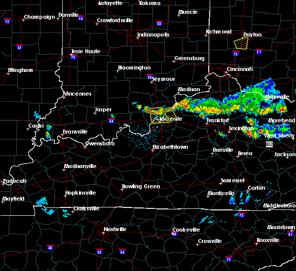 Radar Image for Severe Thunderstorms near Coldstream, KY at 6/5/2017 6:28 PM EDT