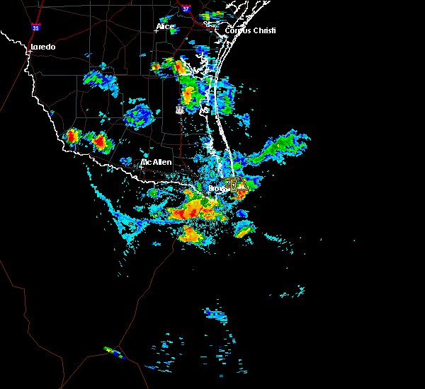 Radar Image for Severe Thunderstorms near Port Isabel, TX at 6/5/2017 6:11 PM CDT