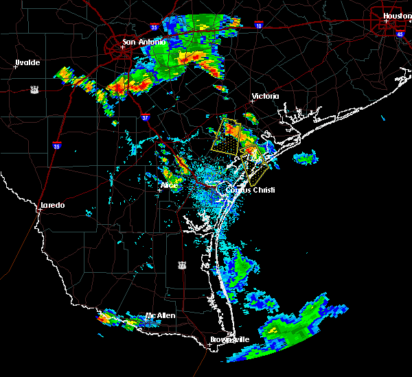 Radar Image for Severe Thunderstorms near Corpus Christi, TX at 6/5/2017 7:05 PM CDT