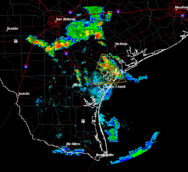 Radar Image for Severe Thunderstorms near Corpus Christi, TX at 6/5/2017 7:26 PM CDT