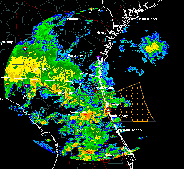 Radar Image for Severe Thunderstorms near Crescent Beach, FL at 6/6/2017 2:20 PM EDT