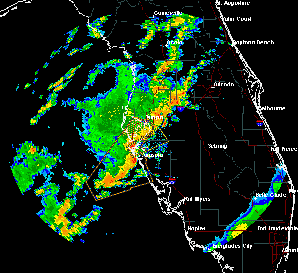 Radar Image for Severe Thunderstorms near Fish Hawk, FL at 6/7/2017 10:16 AM EDT