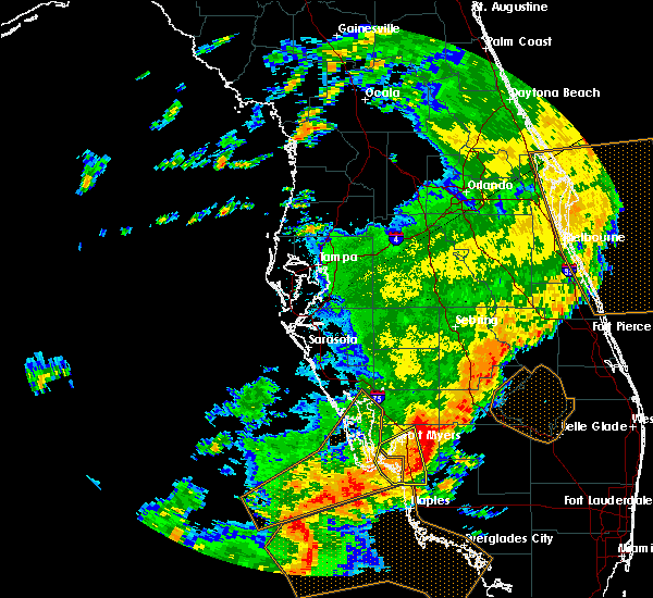 Radar Image for Severe Thunderstorms near Gateway, FL at 6/7/2017 1:53 PM EDT